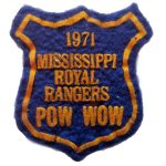1971 Mississippi PowWow patch