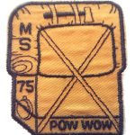 1975 Mississippi PowWow patch