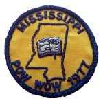 1977 Mississippi PowWow patch