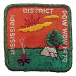 1979 Mississippi PowWow patch