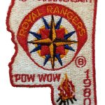 1980 Mississippi PowWow patch