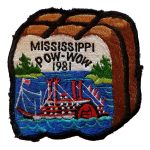1981 Mississippi PowWow patch