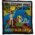 1982 Mississippi PowWow patch