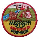 1983 Mississippi powwow patch