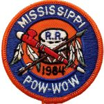 1984 Mississippi Royal Rangers PowWow patch