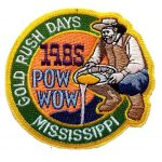 1985 Mississippi PowWow patch