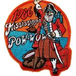 1986 Mississippi PowWow patch
