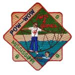 1988 Mississippi PowWow patch
