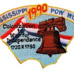 1990 Mississippi PowWow patch