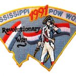 1991 Mississippi PowWow patch
