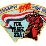 1992 Mississippi PowWow patch