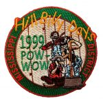 1999 Mississippi PowWow patch