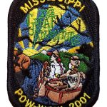 2001 Mississippi PowWow patch