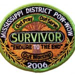 2006 Mississippi PowWow patch