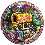 2008 - 2012 Mississippi PowWow patch set
