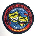 2015 Mississippi District PowWow patch