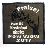 2017 Mississippi District PowWow Patch