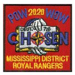 2020 Mississippi PowWow patch